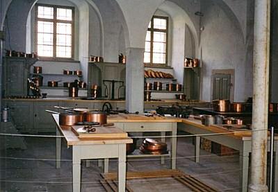 Schlossk�che Pillnitz im Schloss Pillnitz
